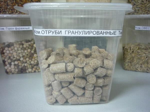 Отруби гранулированные Оптовая база, склад-магазин «Трион» г. Нягань