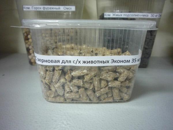 КС зерновая для с/х животных Эконом 35 кг. Оптовая база, склад-магазин «Трион» г. Нягань
