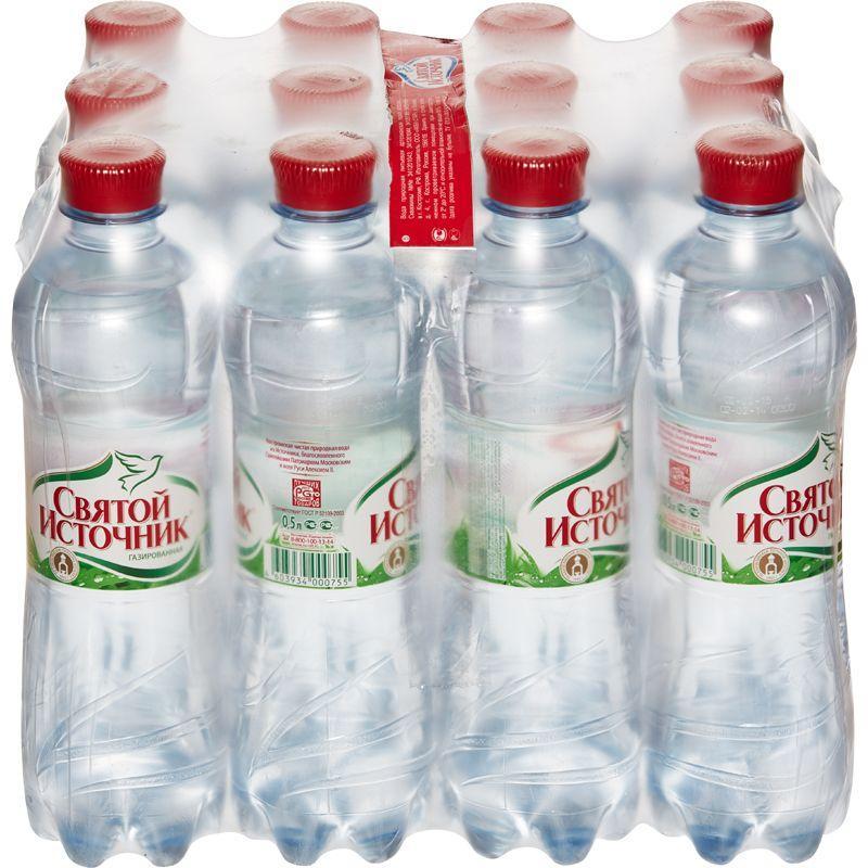 Газированная вода Святой источник Оптовая база, склад-магазин «Трион» г. Нягань