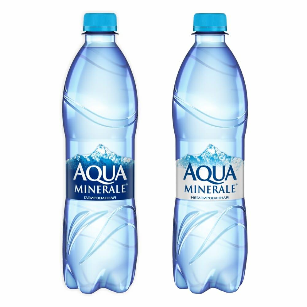 Мин вода АКВА-МИНЕРАЛЕ 1л 1,5л 2л Оптовая база, склад-магазин «Трион» г. Нягань