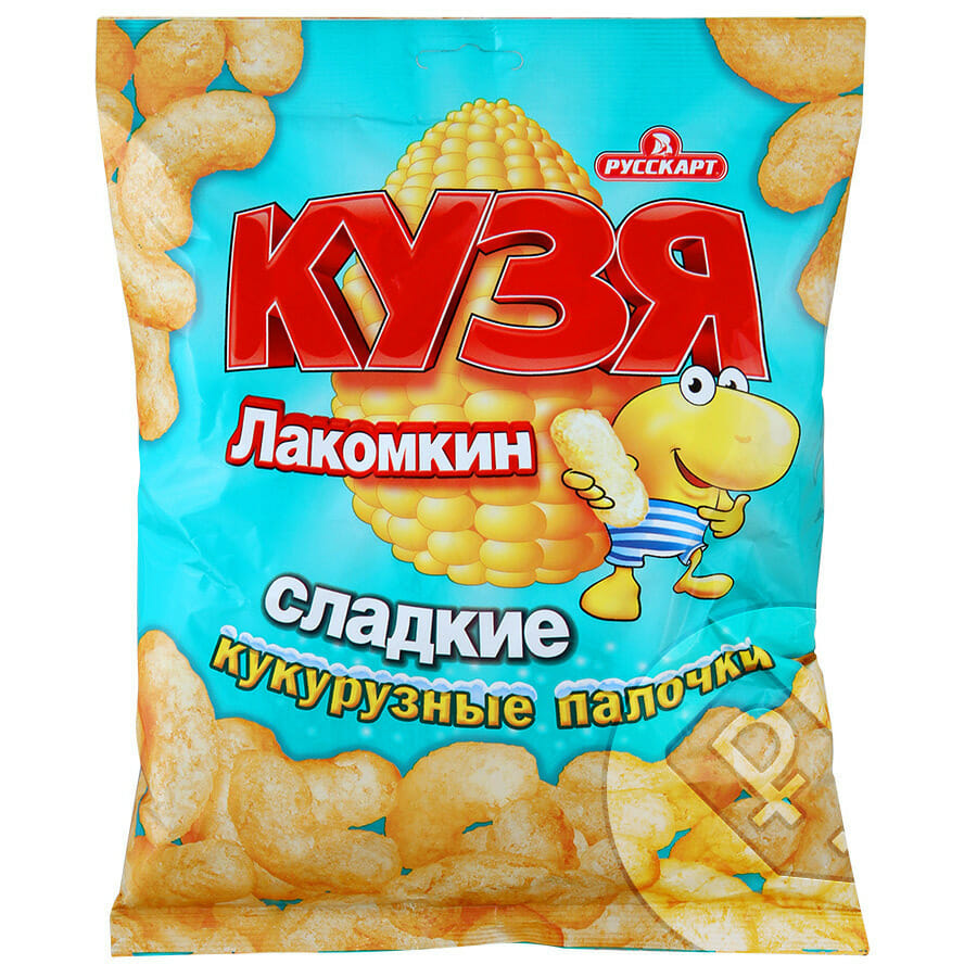 ПАЛОЧКИ кукуруз КУЗЯ Лакомкин Оптовая база, склад-магазин «Трион» г. Нягань