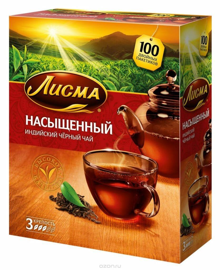 Чай ЛИСМА Заваркин 100п 6шт 203011 Оптовая база, склад-магазин «Трион» г. Нягань
