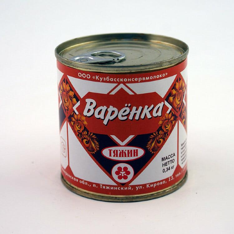 МОЛОКО сгущ вареное ВАРЕНКА 8,5% Оптовая база, склад-магазин «Трион» г. Нягань