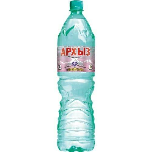 Мин вода АРХЫЗ- ВИТА газ 1,5л Оптовая база, склад-магазин «Трион» г. Нягань