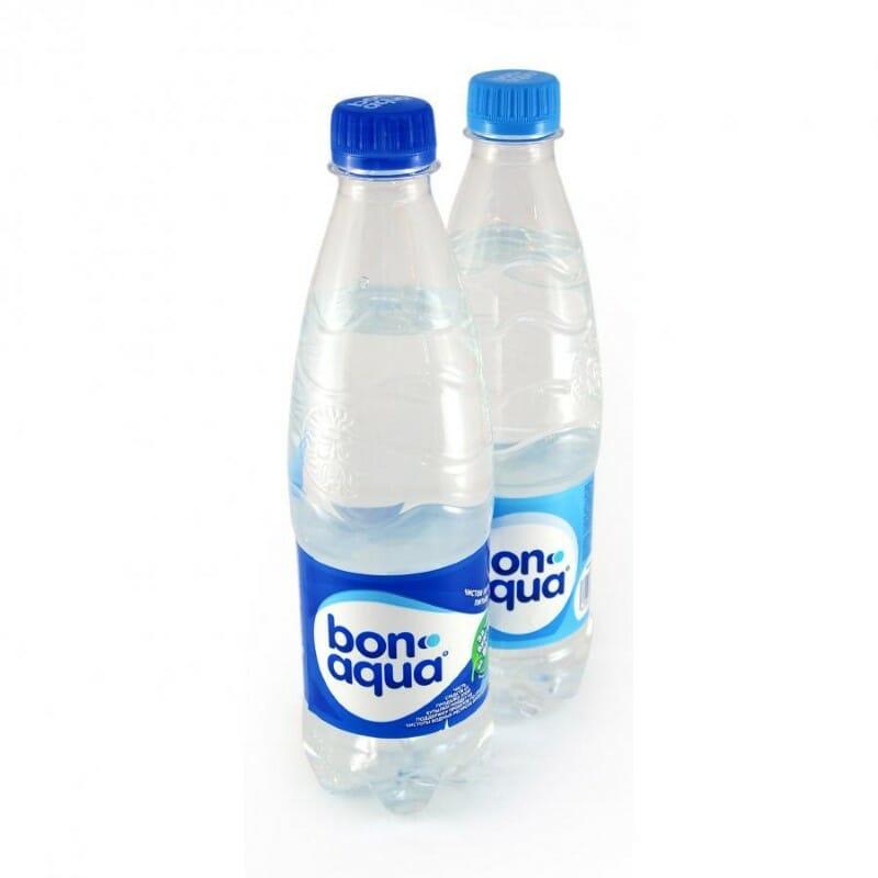 Мин вода БОН АКВА 0,5л 1 л 1,5 л 2 л Оптовая база, склад-магазин «Трион» г. Нягань