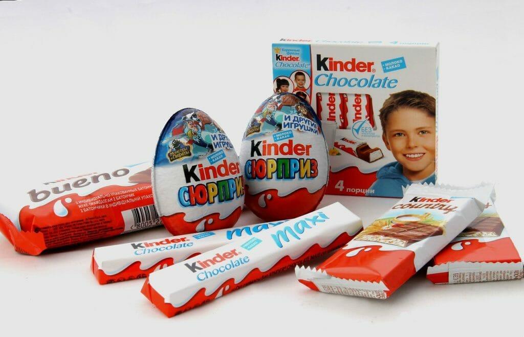 Шоколад КИНДЕР ШОКОЛАД Германия ассорт Оптовая база, склад-магазин «Трион» г. Нягань